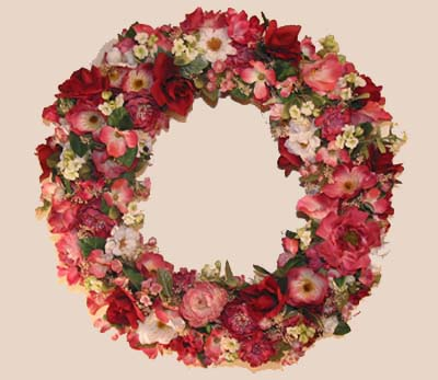 Shaganappi Designs - Rose Wreath